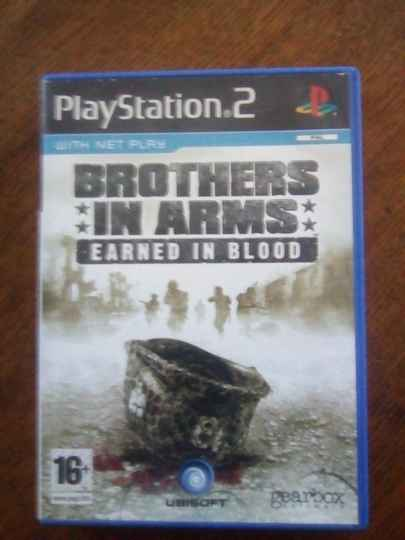PS2 with net play - Brothers in Arms - earned in blood