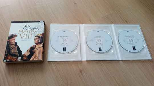 3DVD The six wives Henry VIII BBC