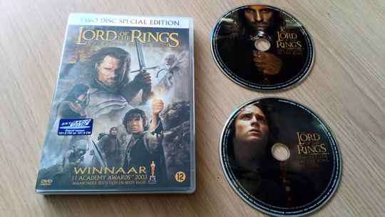 2 DVD The lord of the rings The return of the king