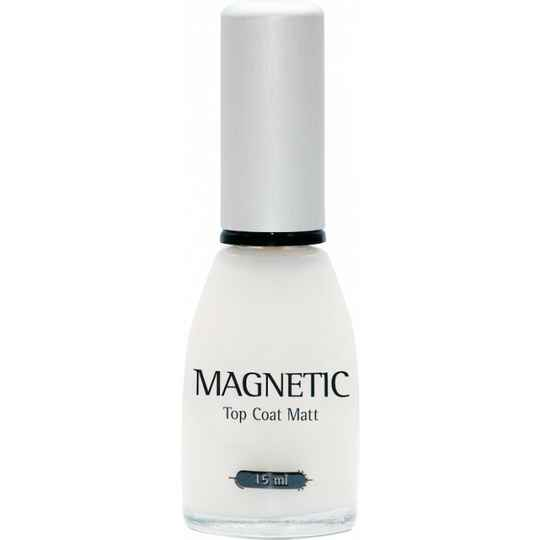 Magnetic top coat matt