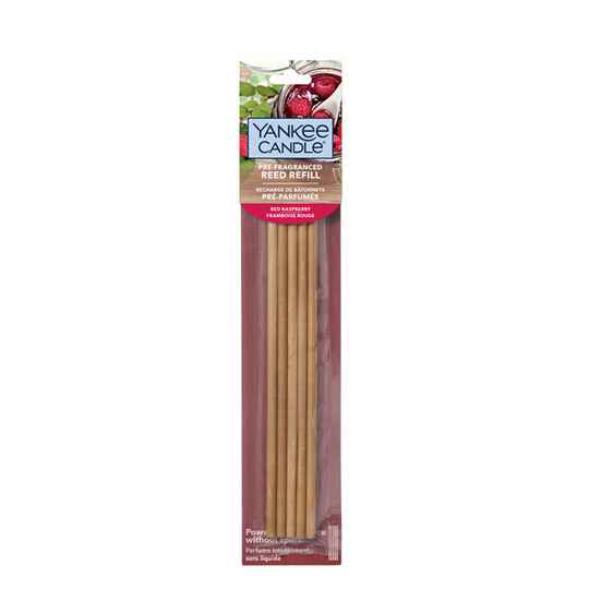 Yankee Candle - Red Raspberry - Reed Diffuser geurstokjes