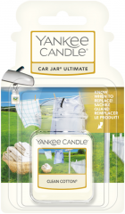 Yankee Candle - Clean Cotton - Car jar ultimate