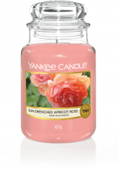 Yankee Candle - Sun-drenched Apricot Rose - Large jar
