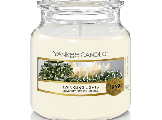 Yankee Candle - Twinkling Lights - small jar