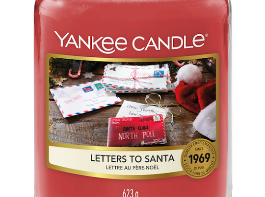 Yankee Candle - Letters To Santa - large jar