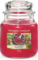 Yankee Candle - Red Raspberry - Medium jar