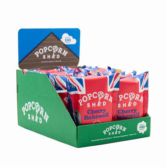 Popcorn Shed - Cherry Bakewell