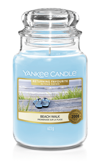 Yankee Candle - Beach Walk - Returning Favourite Limited Edition