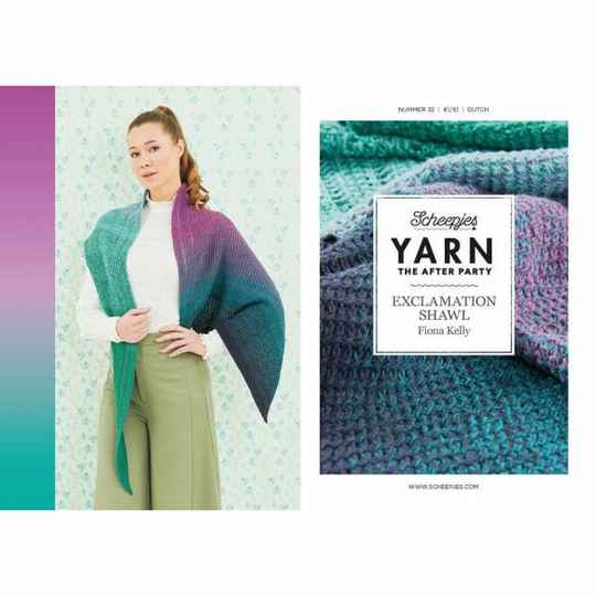 """Yarn, the after party """"Exclamation shawl"""""""