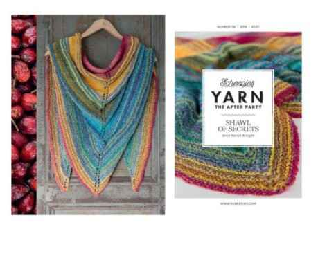 """Yarn, the after party """"Shawl of secrets"""""""
