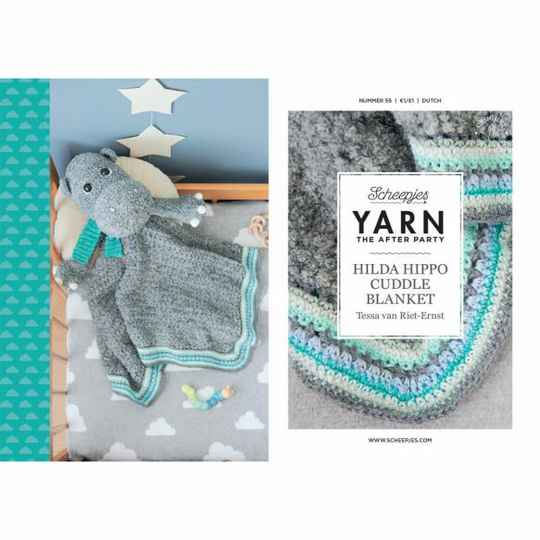 """Yarn, the after party """"Hilda Hippo Cuddle Blanket"""""""