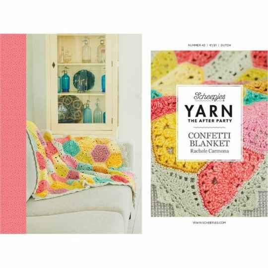 """Yarn, the after party """"Confetti blanket"""""""