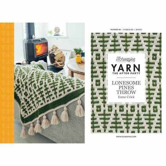 """Yarn, the after party """"Lonesome pines throw"""""""
