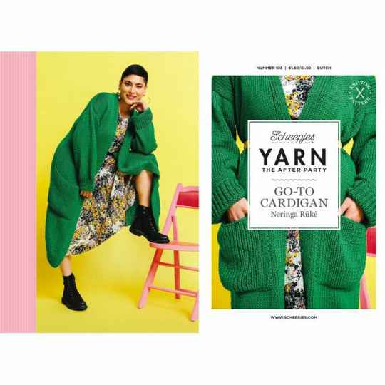 """Yarn, the after party """"Go-to-Cardigan"""""""