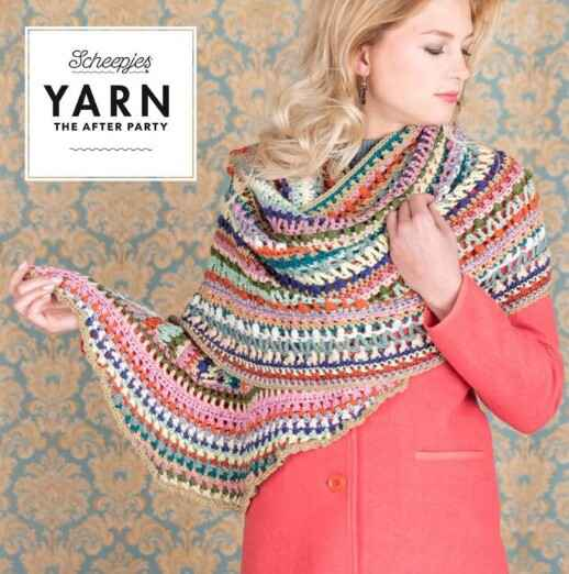 """Yarn, the after party """"Wrapket scarf"""""""