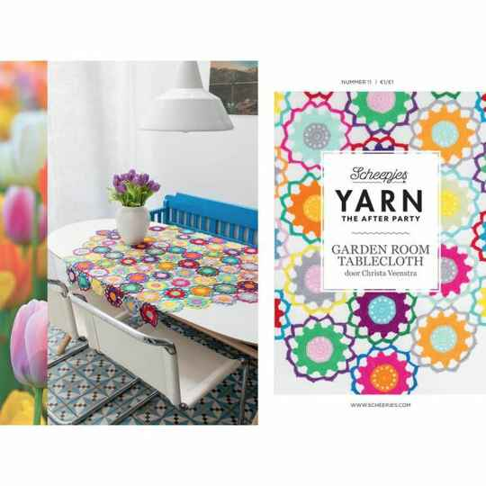 """Yarn, the after party """"Garden room tablecloth"""""""