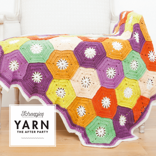 """Yarn, the after party """"Hexagon blanket"""""""