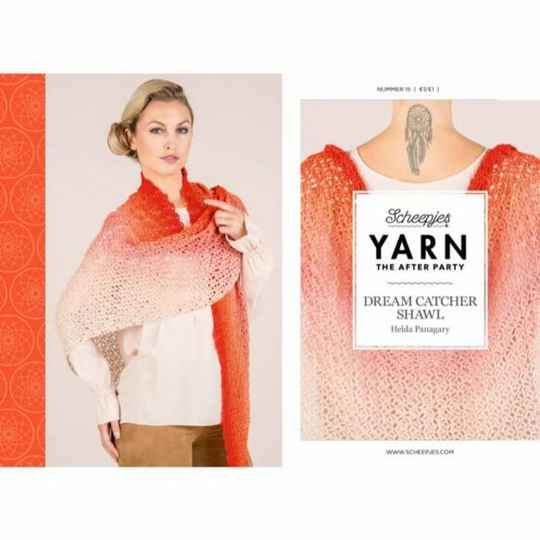 """Yarn, the after party """"Dream catcher shawl"""""""