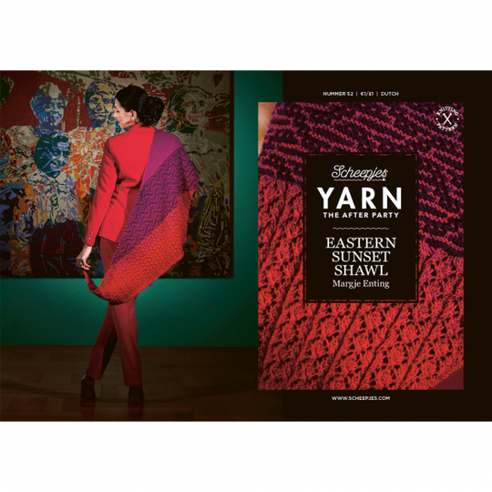 """Yarn, the after party """"Eastern Sunset Shawl"""""""