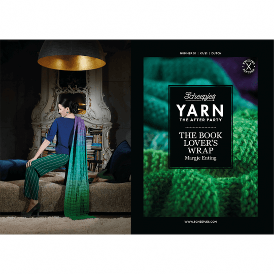 """Yarn, the after party """"Book lover's wrap"""""""