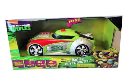 Toystate Raph's Ooze Booster TNMT