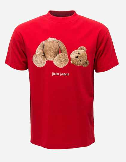 Palm Angels - Bear Tee - Red