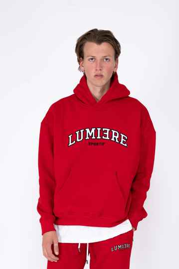 LUMI3RE - Sportif Tracksuit - Red