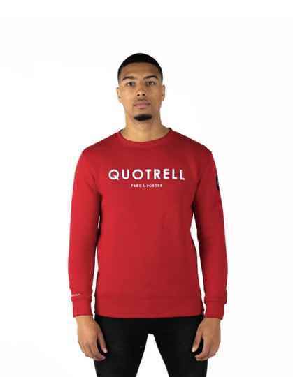 Quotrell - Sweater - Red