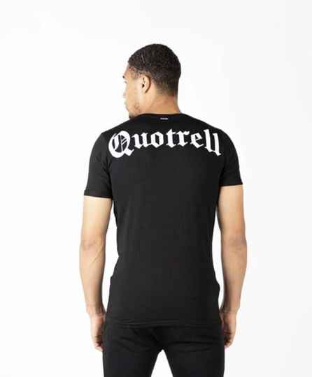 Quotrell - Wing Tee - Black/White