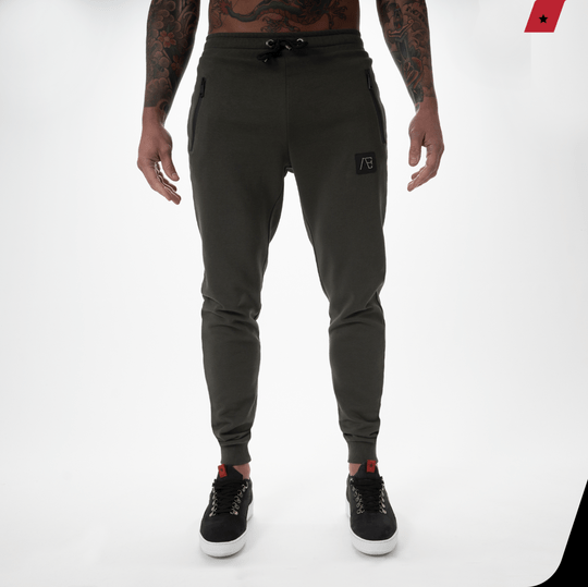 AB Lifestyle - Exclusive track pants - Army Green