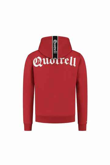 Quotrell - Commodore Hoodie - Red