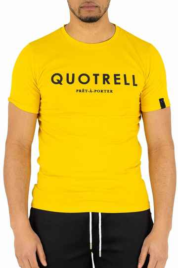 Quotrell - Wing Tee  - Yellow