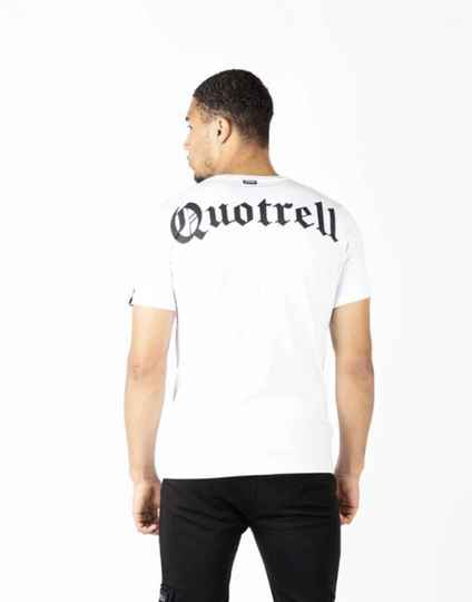 Quotrell - Wing Tee - White