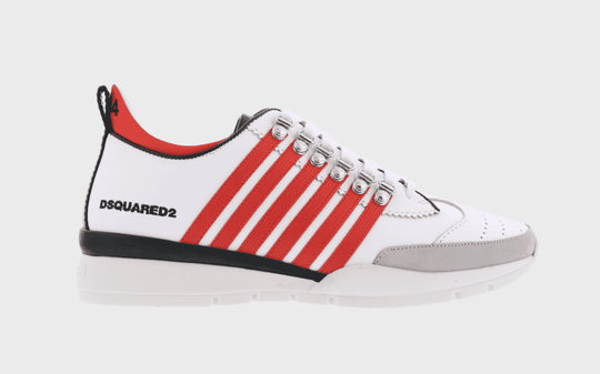 Dsquared2 - Sneakers - White Red
