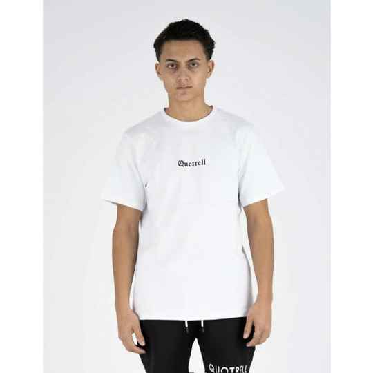 Quotrell - Basic Tee - New Orleans White