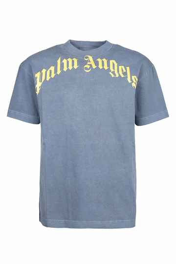 Palm Angels - Vintage Wash Tee - Yellow