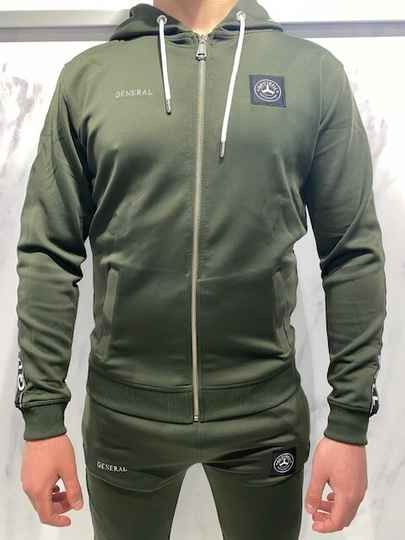 Quotrell - General Jacket - Army Green