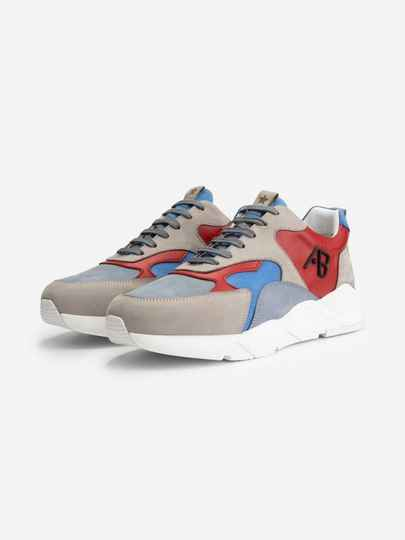 AB Lifestyle - Runners - Red / Blue