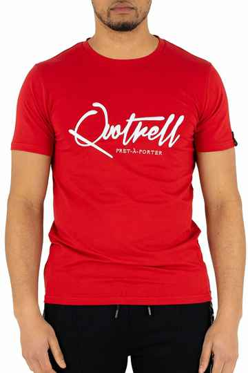 Quotrell - Signature Tee - Red