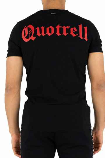Quotrell - Wing Tee - Black/Red