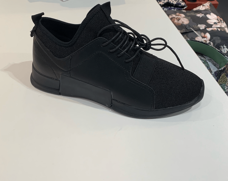 SNEAKERS BLACK PARIS
