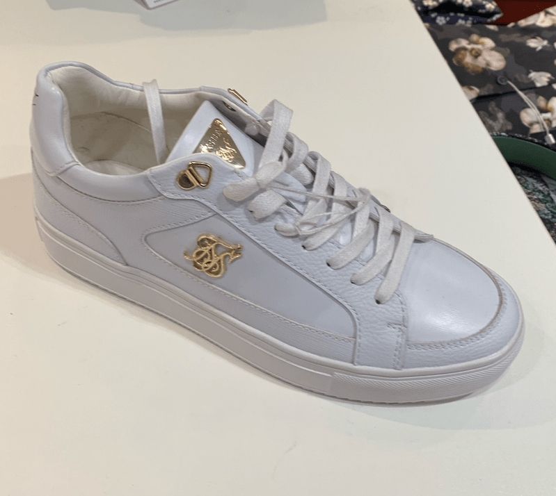 SNEAKERS SIKSILK WHITE/GOLD