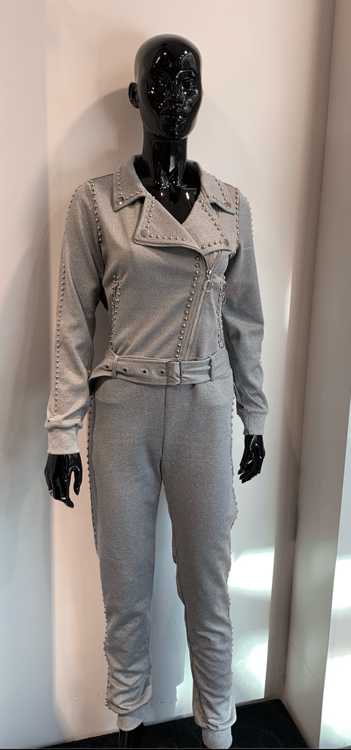 JUMPSUIT PARIS GREY