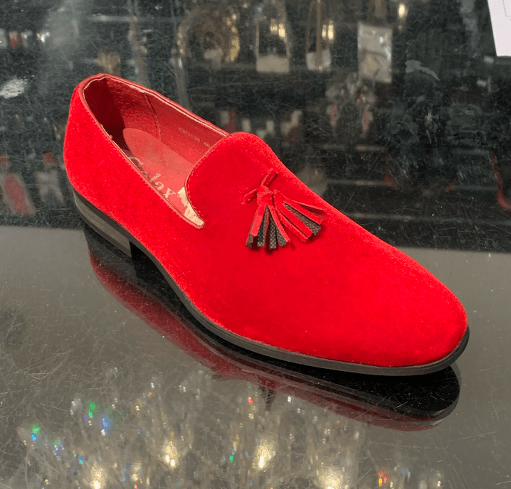 LOAFERS PARIS RED