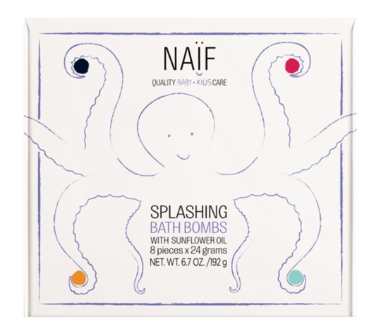 Naïf • Splashing bath bombs