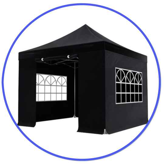 Easy-up Partytent 3x3