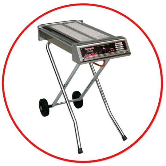 Barbecue op Gas 100x25