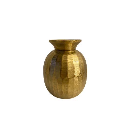 Small Vase Gold