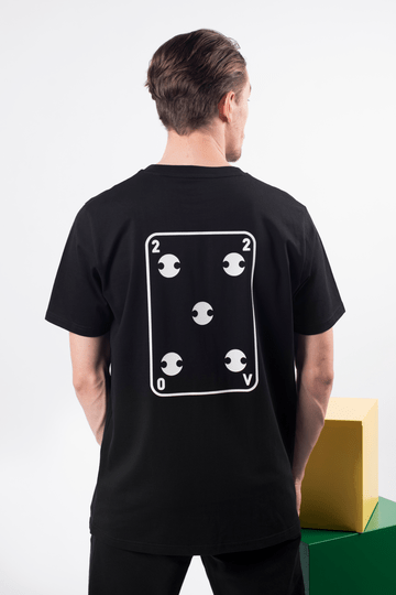 220v SAMURAI GAME OF CARDS t-shirt