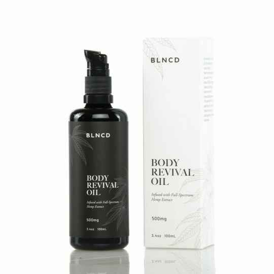 | BLNCD | Revival Body Oil | 500Mg |